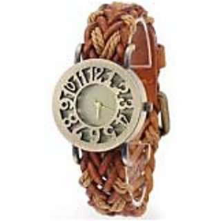 TRUE COLORS VINTAGE LEATHER WATCH My Lovers First Gift Analog Watch - For Girls Women
