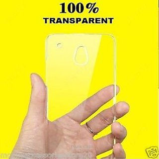 Ultra thin transparent back cover for LYF Wind 5