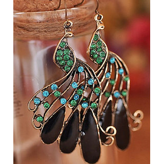 Shining Diva Non Plated Multi Dangle Earrings For Women-CFJ5337er