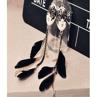 Shining Diva Non Plated Multi Dangle Earrings For Women-CFJ4502er