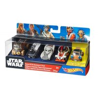 Hot Wheels Star Wars Heroes Of The Resistance 5-PacK Multi Color