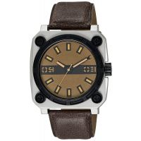 Fastrack Brown Strap Analog Watch For Men-3105SL02