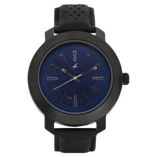 Fastrack Black Strap Analog Watch For Men-3120NL01