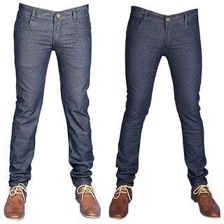 Coaster Men's In Style Denim-Pack Of 2 With 1 Pair Of Assorted Socks Free
