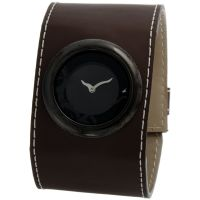 Fastrack Brown Strap Analog Watch For Women-6045NL01
