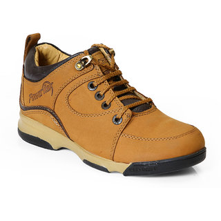 Red Chief Men's Brown Lace-Up Casual Shoes