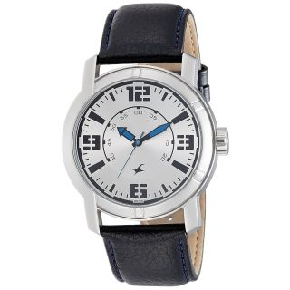 Fastrack Black Strap Analog Watch For Men-3021SL03