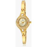 Timex Gold Strap Analog Watch For Women-Tw000X902