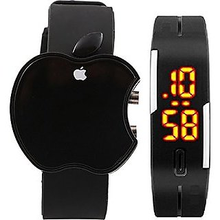 MVS Super Combo Buy Smart Fitness Band Watch Free Apple Led Watch