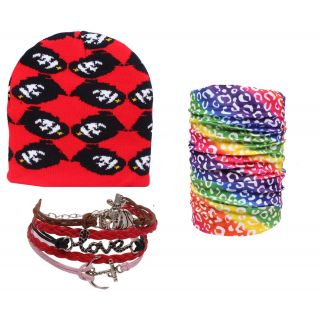 Sushito The Rocking  Wollen Cap With Bandana  Wrist Band JSMFHCP1399-JSMFHWB1012-JSMFHMA0625