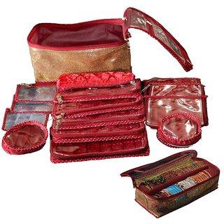 Srajanaa Combo 15pc. Locker Jewellary kit + Bengal Box 2 rod Free