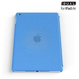 IRUAL MESH SHELL CASE For IPad Air - Blue - By Flipper