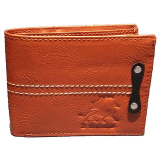 2 Devils Brown Regular Wallet For Men