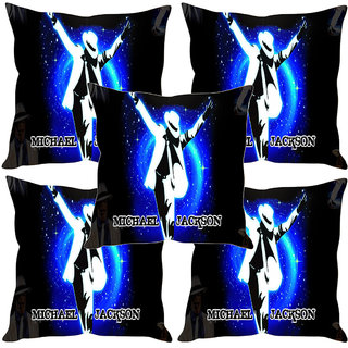 Sleep NatureS Michael Jackson Abstract Printed Cushion Covers Set Of Five
