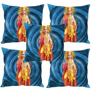 Sleep NatureS God Printed Cushion Covers Set Of Five