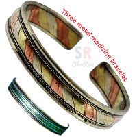 Three Metal Medicine Bracelet - For All Age Groups