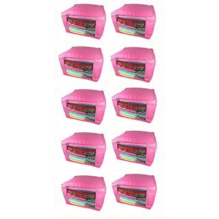 Abhinidi Non-Woven Multipurpose large 5inc Saree Cover 10PC Capacity 10-15 Units Saree Each