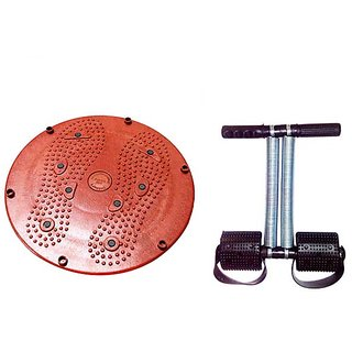 Maxtop Body Twister with Tummy Trimmer Double Spring