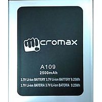 PREMIUM Battery For Micromax A109 2500mAh
