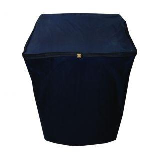 Dream Care Navy Blue Waterproof Dustproof Washing Machine Cover For Videocon digi zaara fully automatic 8 kg washing machine