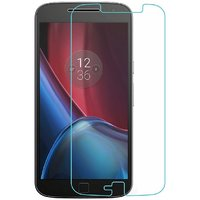 Red Knight Motorola Moto G Plus 4th Gen Premium Tempered Glass Screen Protector
