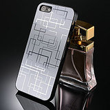 Luxury Silver Color Metal Back Cover Case For Apple IPhone 5 5s
