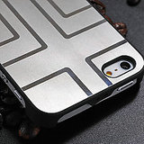 Luxury Titanium Alloy Metal Back Cover Case For Apple IPhone 5 5s