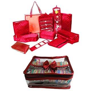 Atorakushon Bangle box Marriage Set Saree Blouse Cover Jewellery Pouch Storage Organizer