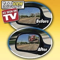 Car  Bike Blind Spot Convex Rear View Mirror