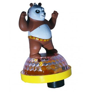 Toyzstation 3D Light Music Dancing Kungfu Panda Assorted Colors