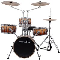 Carpenter 4 pcs Drum Set with Cymbal, Hi-Hat  Seat