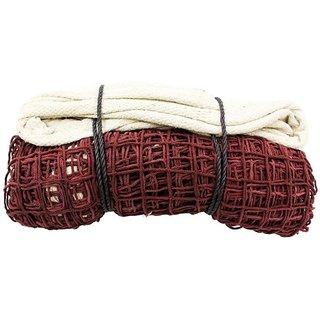 NETCO POWER Badminton Net - Cotton ( 4 Side Cotton Niwar 1.5 MM)