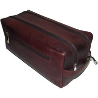 100%GENUINE Leather New Toiletry Case, Sewing Kit, Men's Sewing Bag  BR SC902