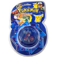 AZI Pokemon Burning Spinning toy YOYO
