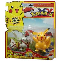 AZI Pokemon Action Figure With Picachu-Assorted in Character