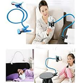 imported Long Lazy Mobile Phone Holder Metal Stand For Bed Desk Table