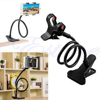 superman Universal Long Lazy Mobile Phone Flexible Holder Stand For Bed Desk Table Car