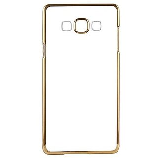superman Transparent Back Case Cover For Samsung Galaxy  J5 (Gold)