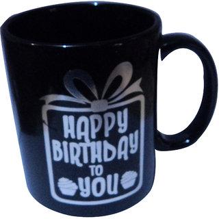 Birthday Gift Mug Black Colour