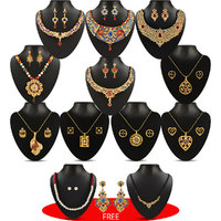 Sukkhi Jewellery Collection (Combo Of 12 Sets)