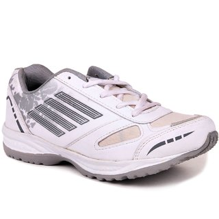 HM-Evotek Mens Sport Shoes In White EKT- 9001-WGY