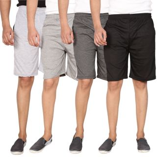 Swaggy Combo of 4 Sports Shorts For Men