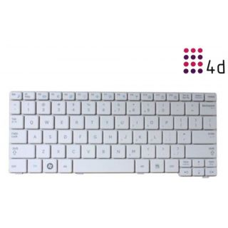 4d - Replacement Laptop Keyboard for  Samsung-N150-White
