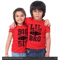 Big Sis Lil Bro Combo T-Shirts