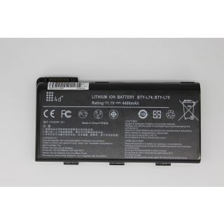 4d BTY-L74  Black A5000-436US  6 Cell Battery