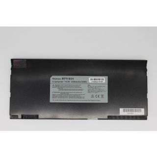 4d BTY-S32 Black  MSI X320X Series    6 Cell Battery