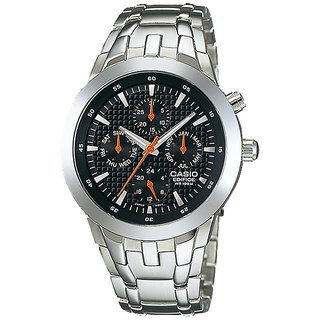 Original Casio Edifice Multi Dials EF-312D-1AVDR(ED152) Men's Personalized Watch