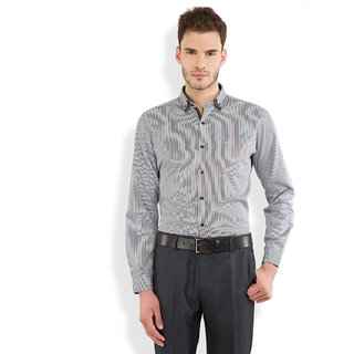 Mark Taylor Full Sleeve Plain Shirt For Men