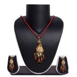 Sukkhi Creative Fashion Gold Plated Pendant Set 1011v