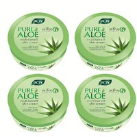 JOY Pure Aloe Multi-benefit Skin Cream 800 ml (Pack of 4 x 200 ml)